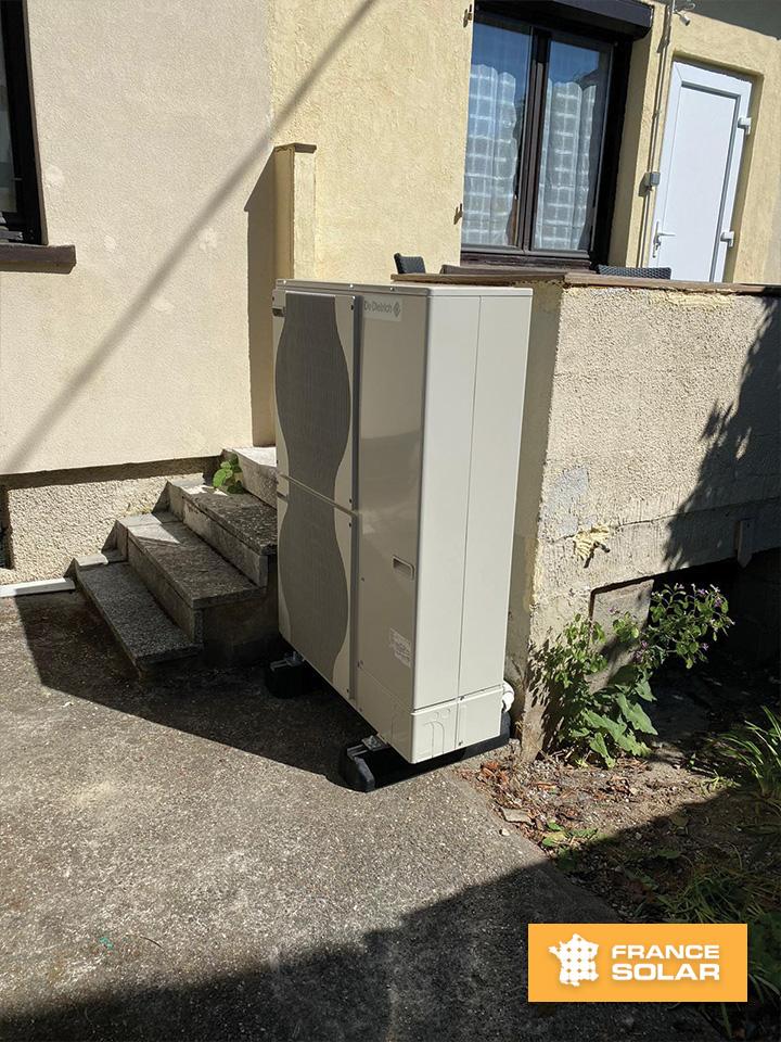 Installation Pompe à chaleur Air/Eau Alezio AWHP 11 MR V 200 (De Dietrich) photo N°2