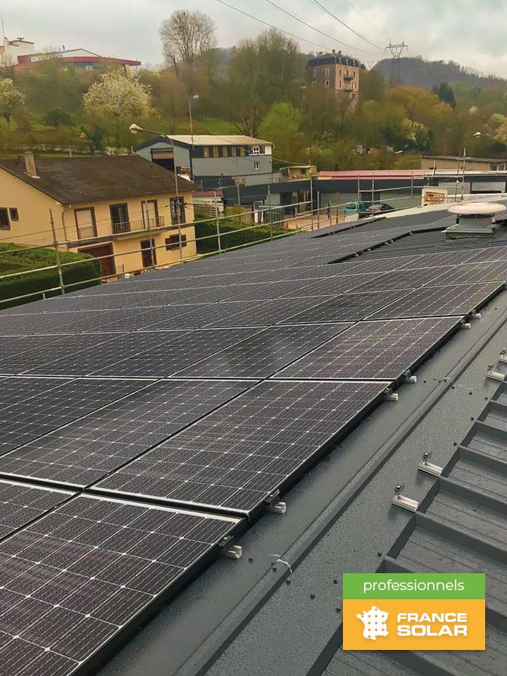 Pose photovoltaïque Rombas par France Solar Business