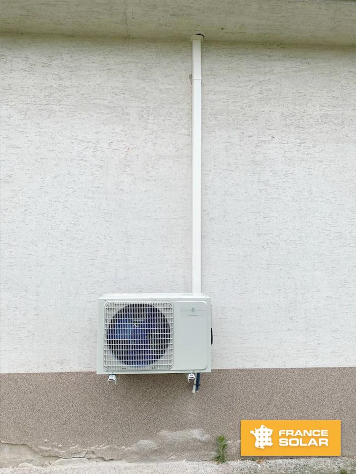 Installation d'une Pompe à chaleur A-A Bisplit chez notre cliente Michelle à Haguenau 67500