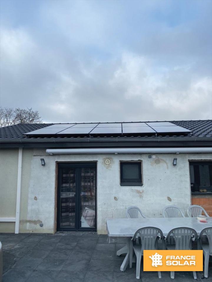 Installation 10 panneaux solaires 3 kwc à Landser