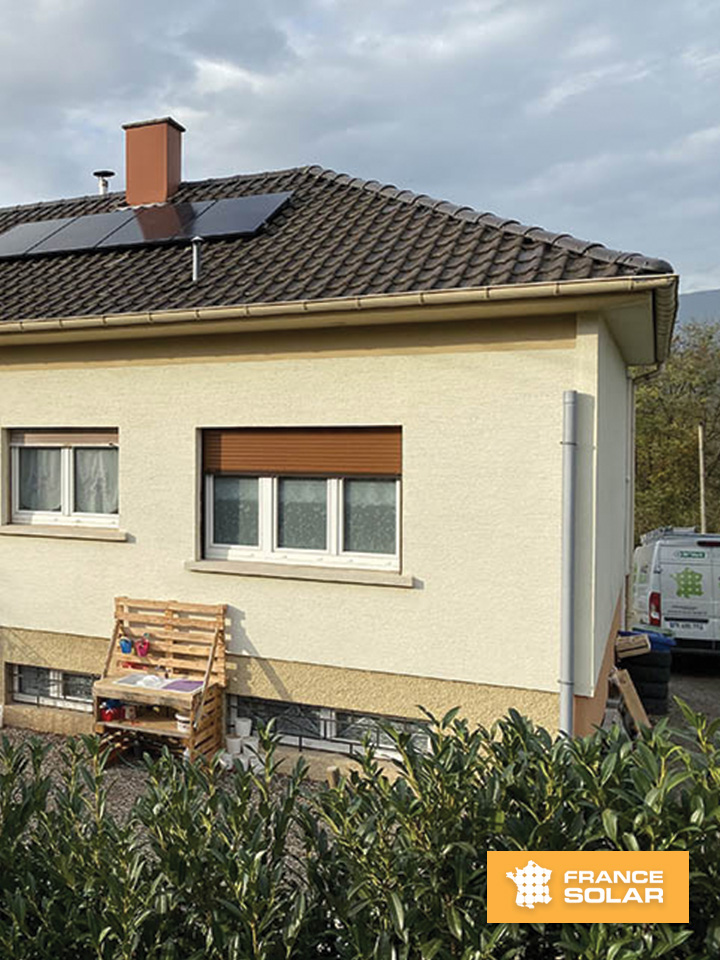 Panneaux Solaires - Russ - Molsheim - Vue extérieur